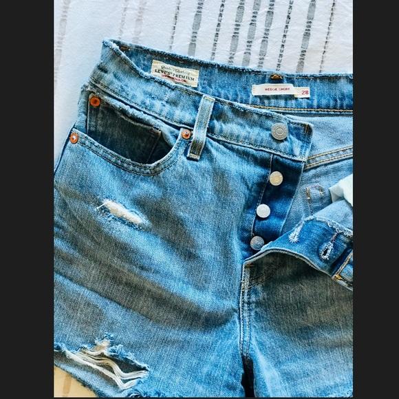 Levi's Pants - Genuine LEVIS Wedgie Fit Jean Shorts